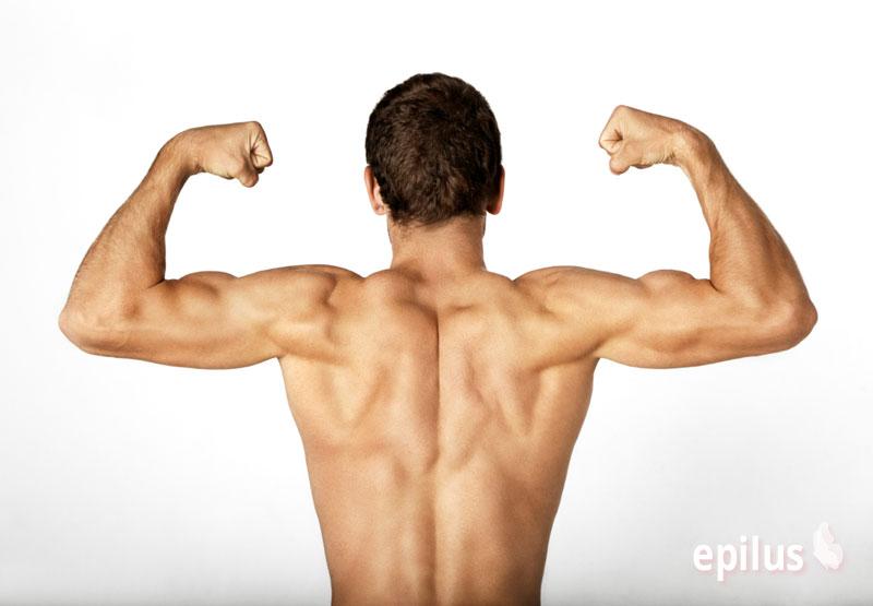 Депиляция спины: 5 безболезненных способов 1-3