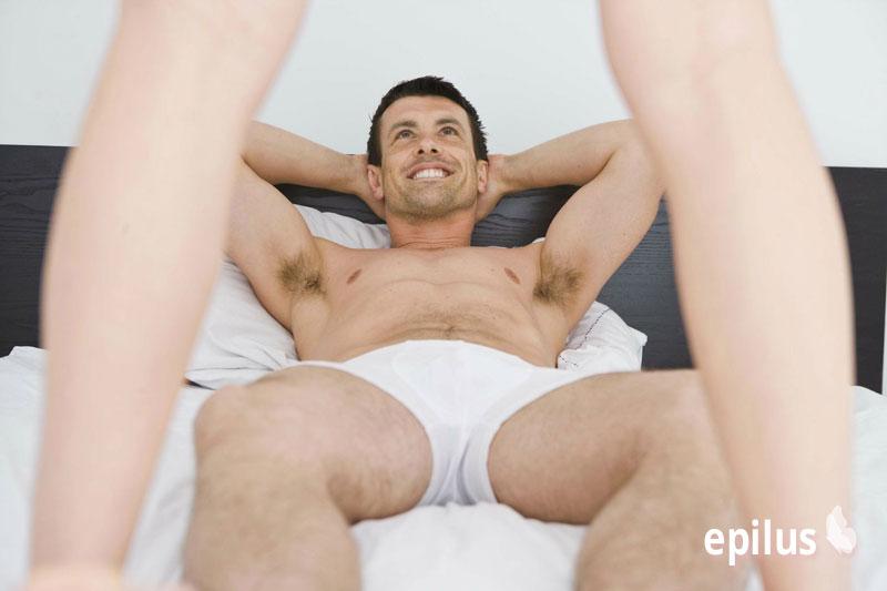 Мужская восковая депиляция бикини видео