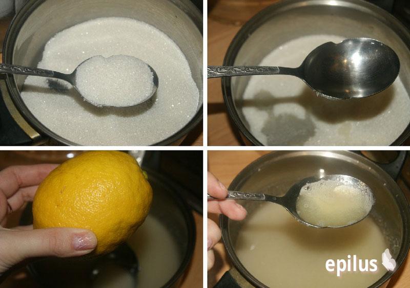 рецепт шугаринга в домашних условиях паста